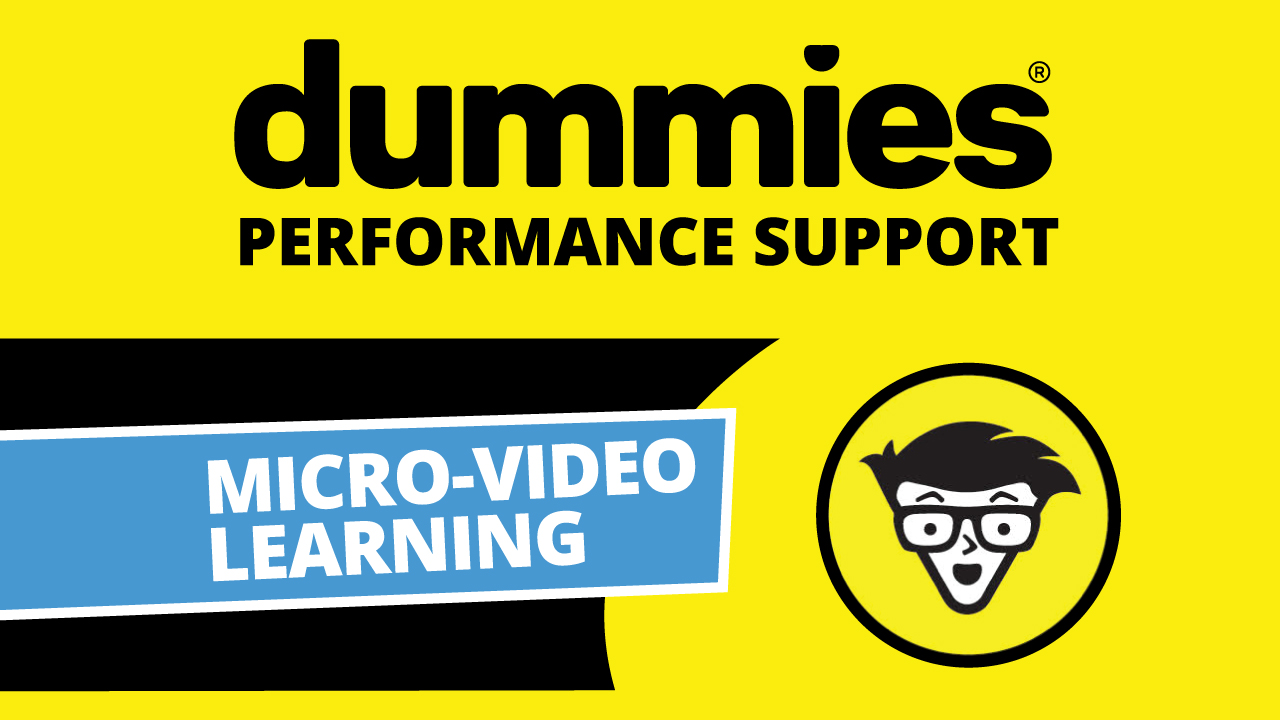 dummies Performance Support Library